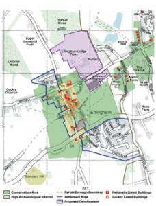 Effingham History Map