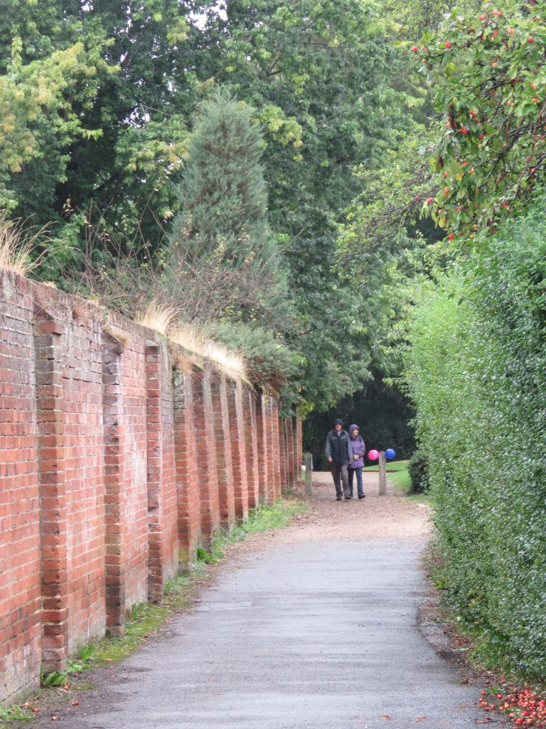 Bishop's Walk which joins the two sister churches of St Lawrence in Effingham and All Saints in Little Bookham